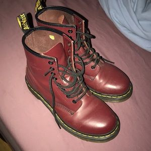 Dr. Martens 1460 smooth red cherry size 7